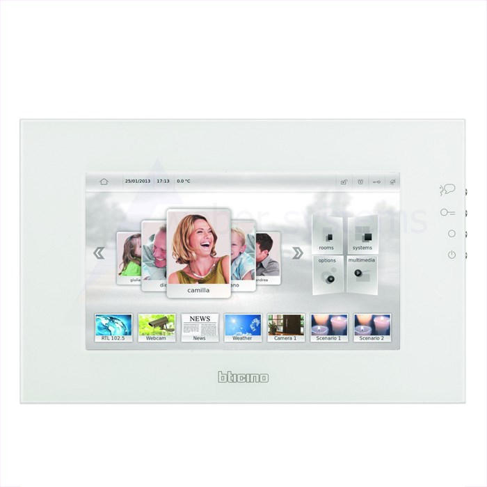 "Panel Axolute MYHOME - Multimedia Touchscreen 10"" - biały"